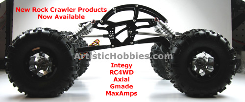 RC rock crawler products from Axail and more.