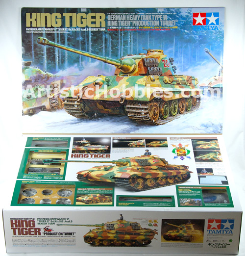 Tamiya Full Option King Tiger Tank