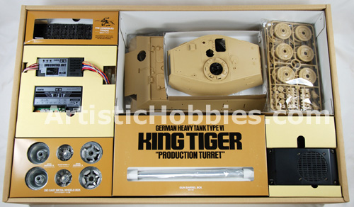 in side King Tiger box