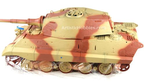 Tamiya 1/16 Full Option King Tiger tank tutorial - Page 8