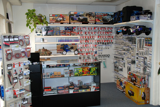 Picture of inside Artistic Hobbies store