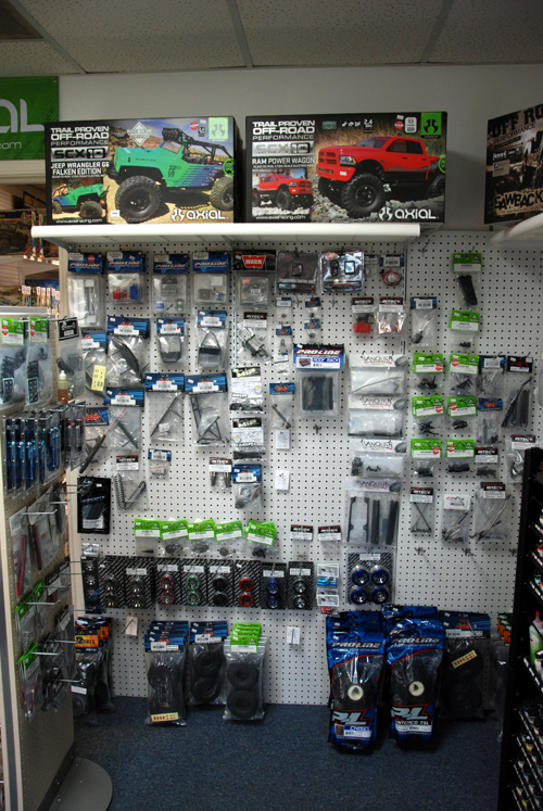 Picture of our RC rock crawling products