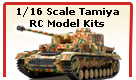 Tamiya Full Option RC Tanks