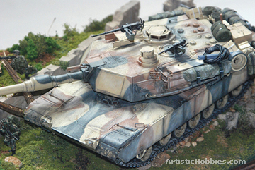 Picture of a Abrams 1MA2 Tank