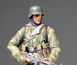 Tamiya 1/16 German Infantryman Model