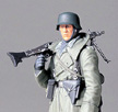 Tamiya 1/16 German Machine Gunner Model