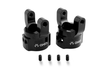 Axial Aluminum C Hub Carrier - Black (2pcs) SCX10