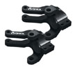 Axial Aluminum Steering Knuckle (Black) (2pcs) Wraith