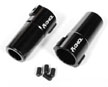 Axial Aluminum Straight Axle Hub Carrier (2pcs) Wraith