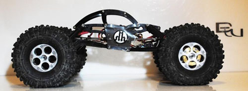 "Billet Works Designs XR ""Thing"" Chassis Kit Black"