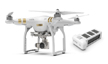 DJI Phantom 3 Professional Drone with Extra Battery