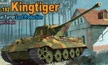 1/35 German King Tiger Sd.Kfz.182 Henschel Turret w/Transport Tracks Tank Model