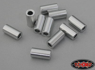 RC4WD 12mm Silver Spacer (10)