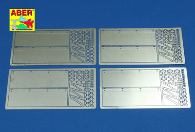 1/16 Tiger I Side Fender Photo Etch Set