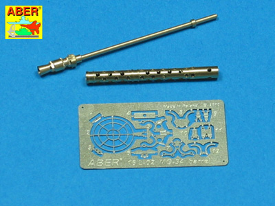 1/16 German MG-34 Turned Barrel and Photo Etch Kit
