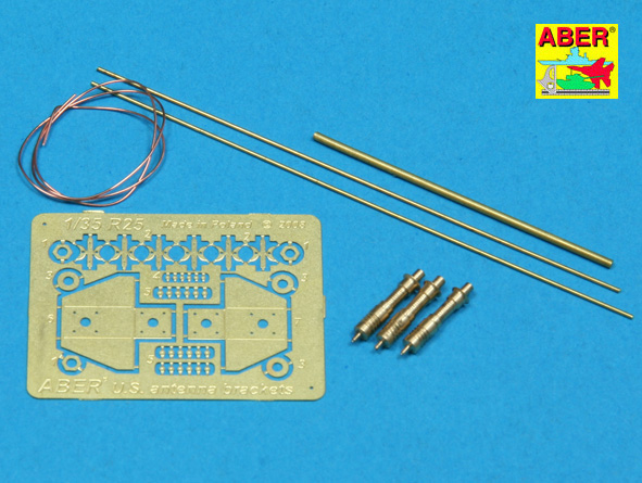1/35 US Army Antenna and Bracket photo etch set