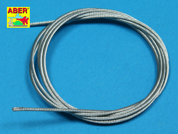 Scale Stainless steel 1.5 mm Tow Cable
