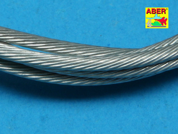 1/16 Scale stainless steel 2.0 mm Tow Cable