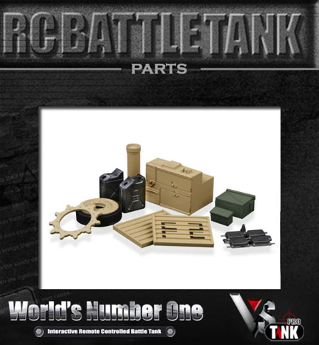 VsTank Pro - M1A2 Abrams Generator and Spare Parts accessories kit