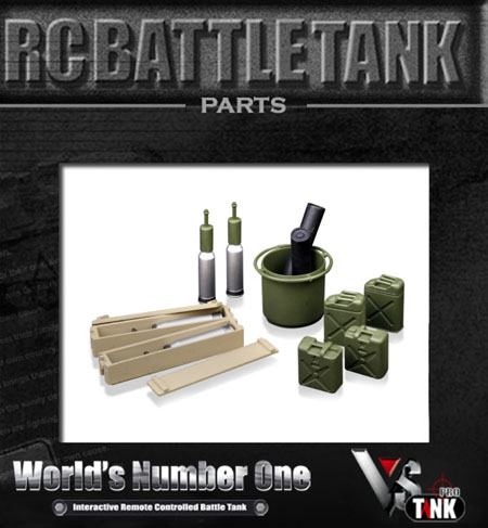 VsTank Pro - Type 90 Oil Tank and weapon Kit