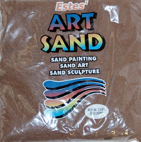 Colored Brown Sand 2 lb size