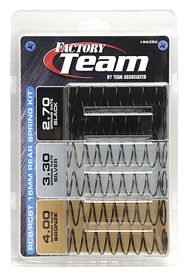 Team Associated 16mm Rear Spring Set for RC8.2e RC Buggy