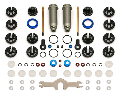 Team Associated - 12mm Rear Big Bore Shock Kit for SC10 & T4