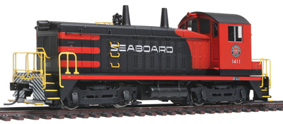 Broadway Limited HO EMD NW2 switcher SAL #1411, black & red