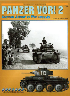 Panzer VOR! 2 German Armor at War Book 1939-45