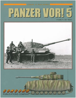 Panzer VOR! 5 German Armor at War Book 1939-45