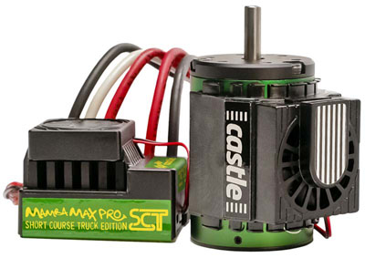 Castle Creations Mamba Max Pro SCT 1/10 Scale Brushless Combo with 3800kV Motor