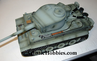 Tiger I Metal, Damaged Sold as is