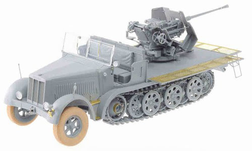 1/35 German Sd. Kfz. 7/2 3.7cm FlaK 36 Model