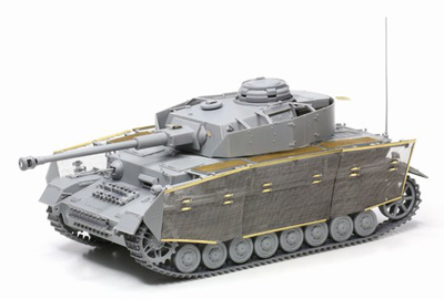 1/35 German Pz.Kpfw.IV Ausf, J, Last Tank Model