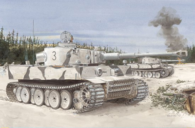 1/35 German Tiger I Tank Initial Production Model
