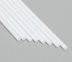 Evergreen - White Styrene Rods .020