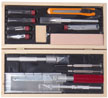 Excel - Wooden Box Deluxe Knife Tool Set
