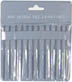 "Excel - 4"" miniature file 12 Pc Set"