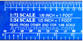 Excel - Deluxe Scale Model Reference Ruler
