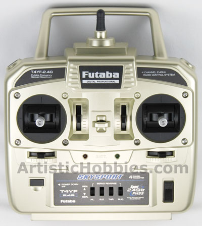 Futaba 4YF 2.4 GHz, 4 Channel Radio