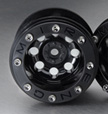 GMade 2.2 Mudrock Beadlock wheels, Black