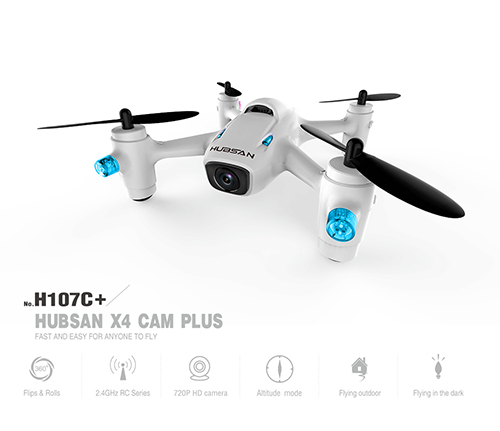 Hubsan 2nd Generation X4 Quadcopter with HD Camera, 2.4GHz