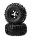 JConcepts All Terrain Pre-mount Tires and Rims - Front