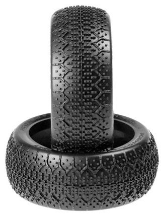 JConcepts 1/8 3DS Green Super Soft Buggy Tires