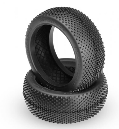 JConcepts 1/8 Black Jackets Tires Blue compound