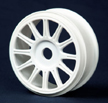 JConcepts 1/8 White Buggy Spoke Wheels
