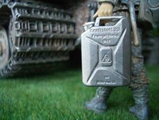 1/16 German Metal Fuel Jerry Can