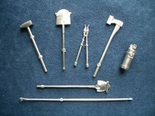 1/16 German Equipment and Tool Kit