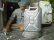 1/16 German Metal Water Jerry Can