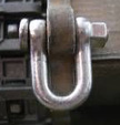 1/16 German Metal Shackle Kit, King Tiger